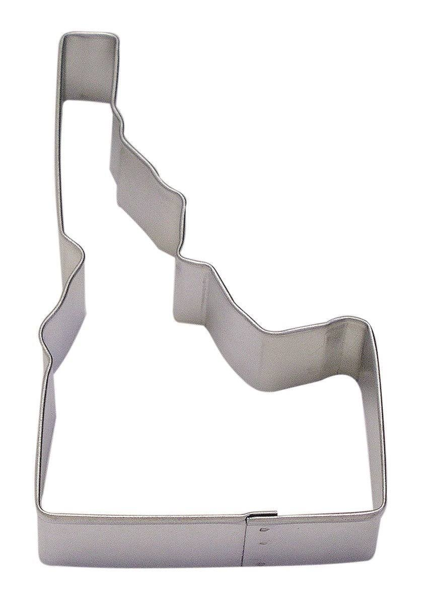 R&M Idaho State Cookie Cutter in Durable, Economical, Tinplated Steel