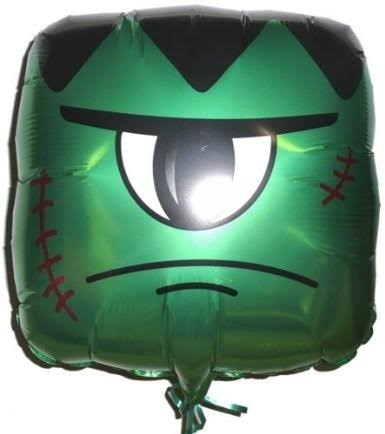 Green Monster Foil Balloon 18in
