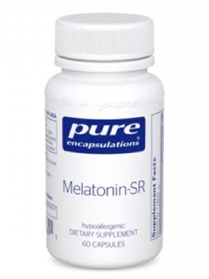 Pure Encapsulations Melatonin-SR Supplement - 60 Capsules