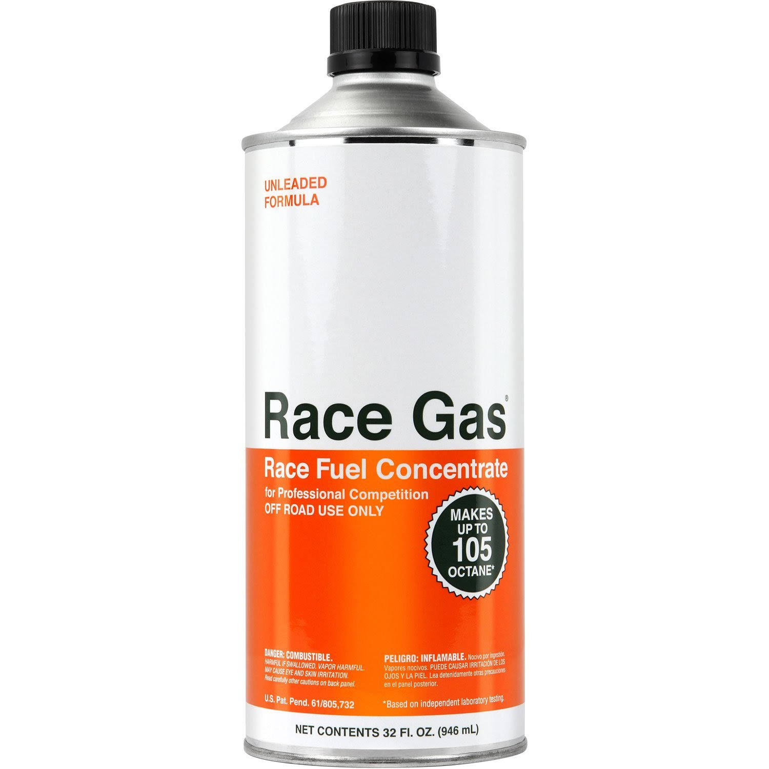 Race Gas 100032 High Octane Concentrate Fuel Additive - 32oz