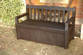 Build Outdoor Storage Bench by Diy Outdoor Bench With Storage Cushion And Back