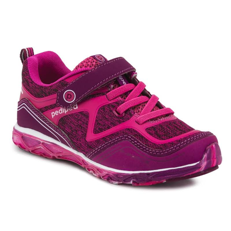 pediped Flex Force Hot Pink Kids Shoe