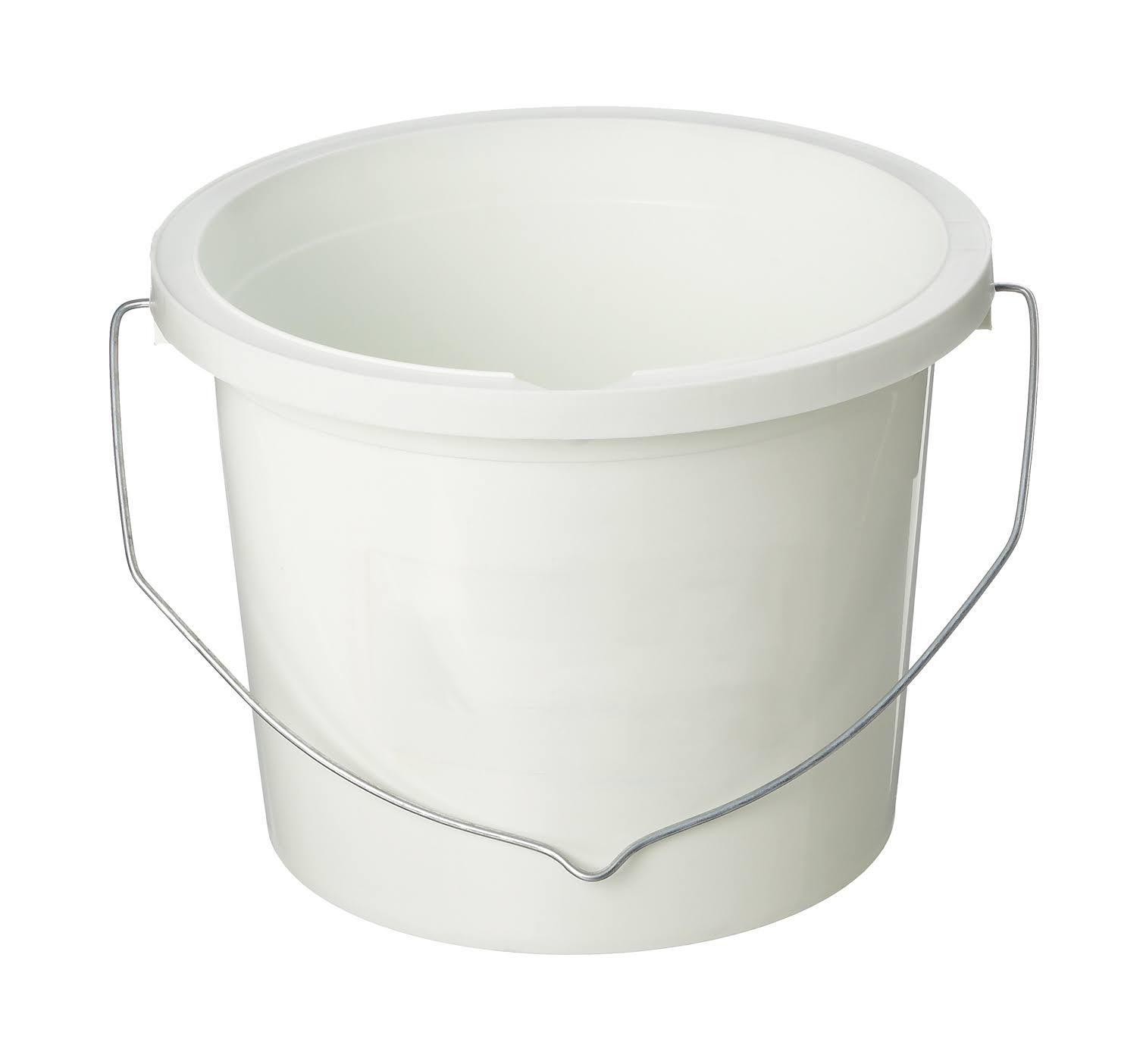 Harris Plastic Paint Kettle - White, 2.4l
