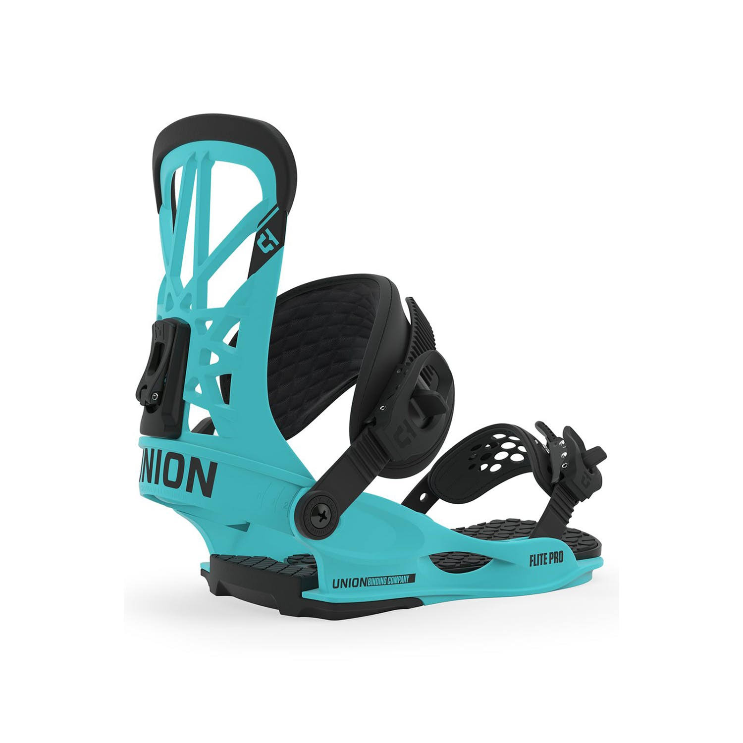 Union Flite Pro Snowboard Bindings - Hyperblue