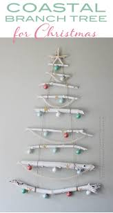 Driftwood Christmas Trees For Sale by Coastal Branch Tree For Christmas Crafts By Amanda
