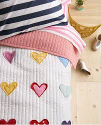Southwest Decoratives Quilt Shop by Reversible Hearts Aflutter Quilt