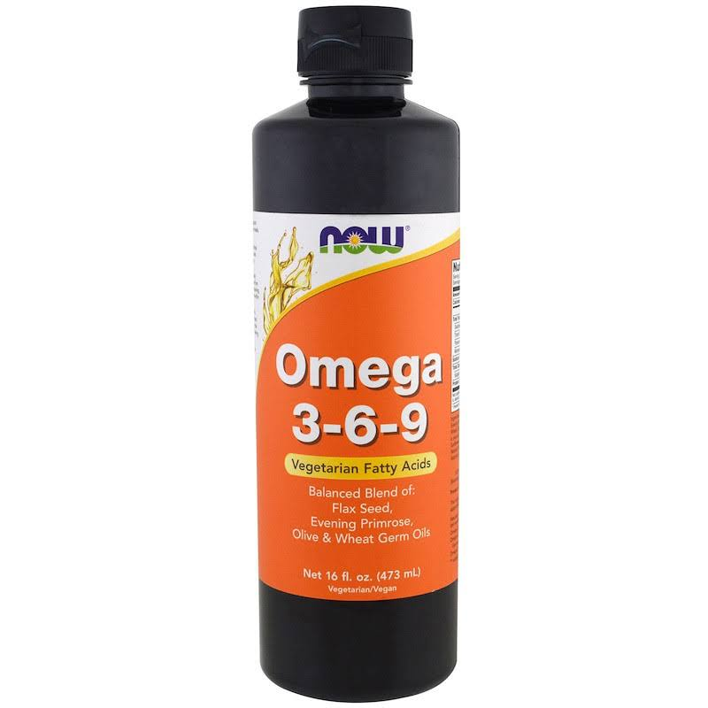 Now Foods Omega 3 6 9 Dietary Supplement - 16oz