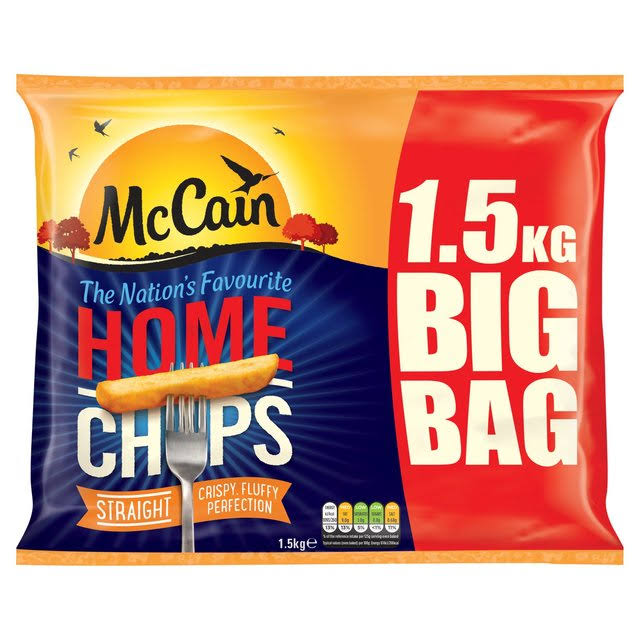 McCain Home Straight Cut Chips - 1.5kg