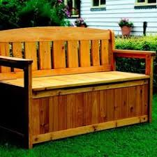 Build Outdoor Storage Bench by Plans For Deck Bench Which Allows Storage Space For Seat Cushions