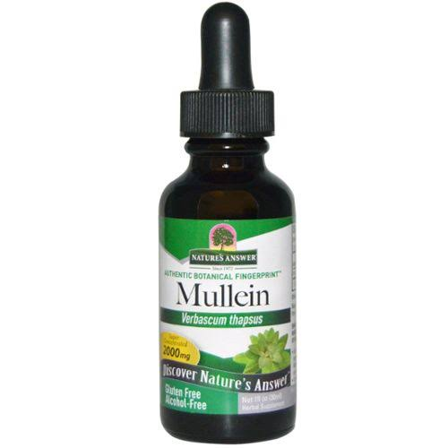 Nature's Answer Mullein Leaf Extract - Alcohol Free
