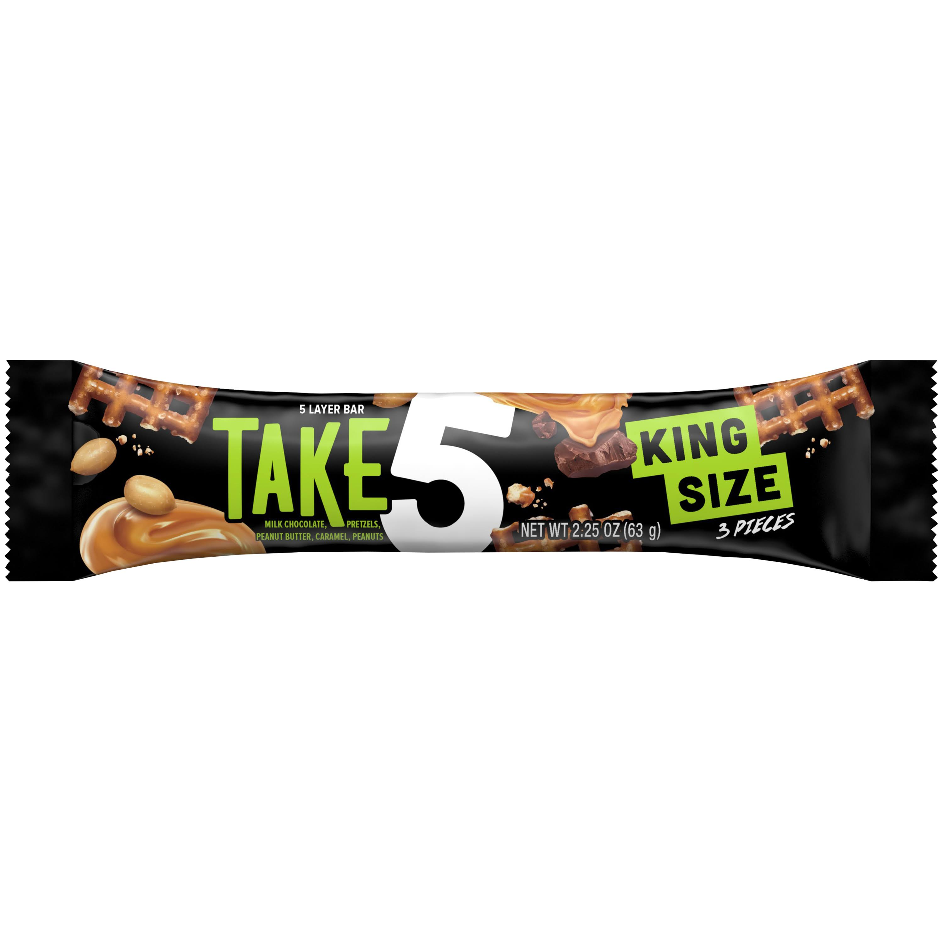 Take 5 King Size Candy Bar - 2.25 oz total