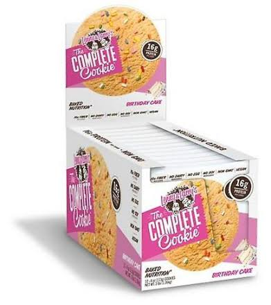 Complete Cookie Birthday Cakes - 12 Pack