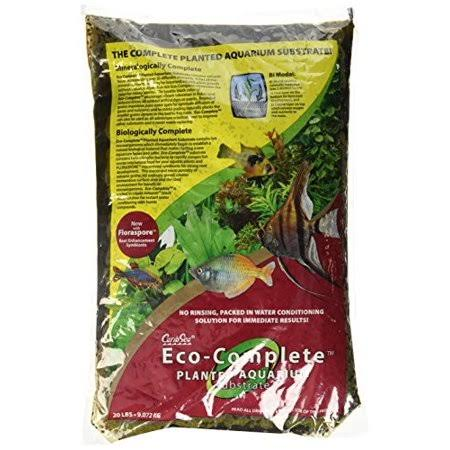Caribsea Eco-Complete Planted Aquarium Substrate - Black, 20lbs