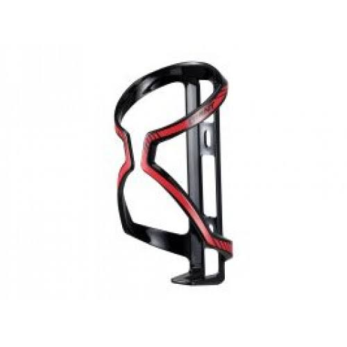 Airway Sport Bike Bicycle Cycling Water Bottle Cage - Black and Red