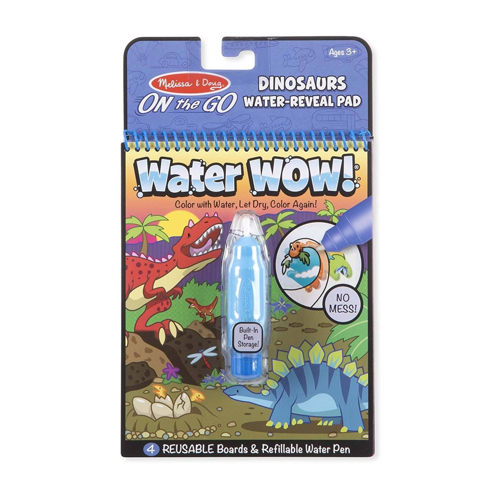 Melissa & Doug Water-Reveal Pad, Dinosaurs