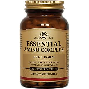 Solgar Essential Amino Complex Vegetarians Supplement - 60 Caps