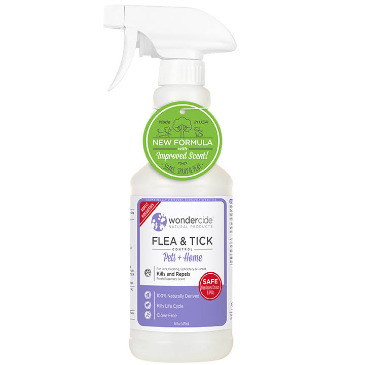 Vet's Best Natural Flea Tick and Mosquito Control Pet Spray - 16oz