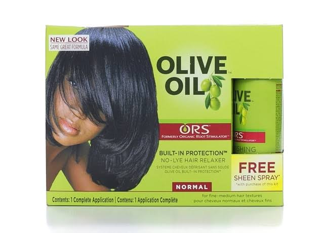 ORS Olive Oil Built-In Protection Full Application No-Lye Hair Relaxer Normal