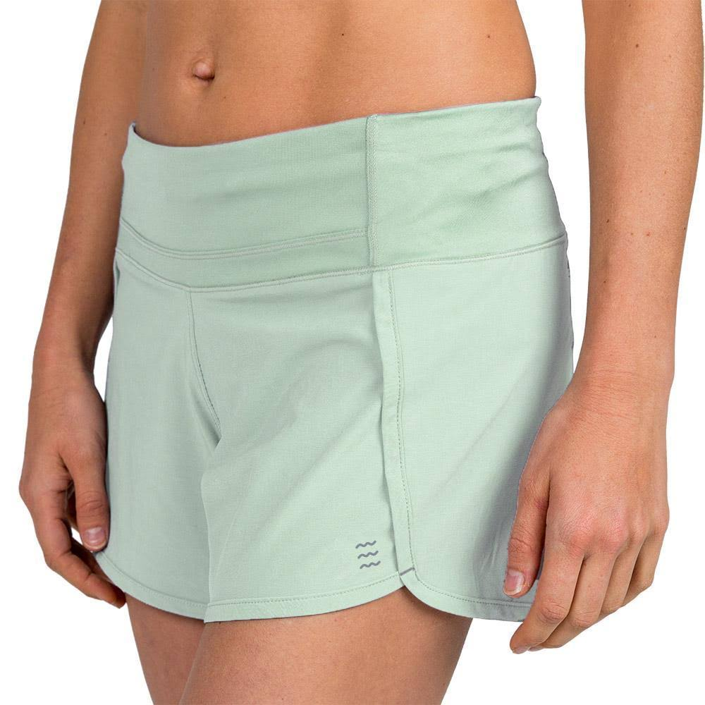 Free Fly Women's Bamboo Lined Breeze Short Seafoam / M