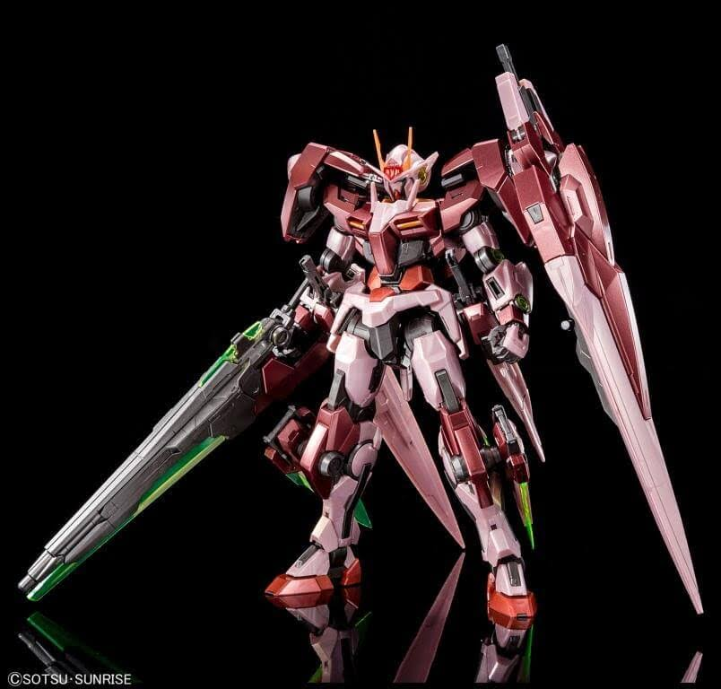 Gundam 00 Gundam Seven Sword G (Trans-Am Mode) Model Kit - Master Grade, 1:100 Scale, Special Coating