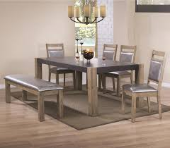 Value City Kitchen Table Sets by Coaster Ludolf Dining Table And Chair Set With Bench Value City