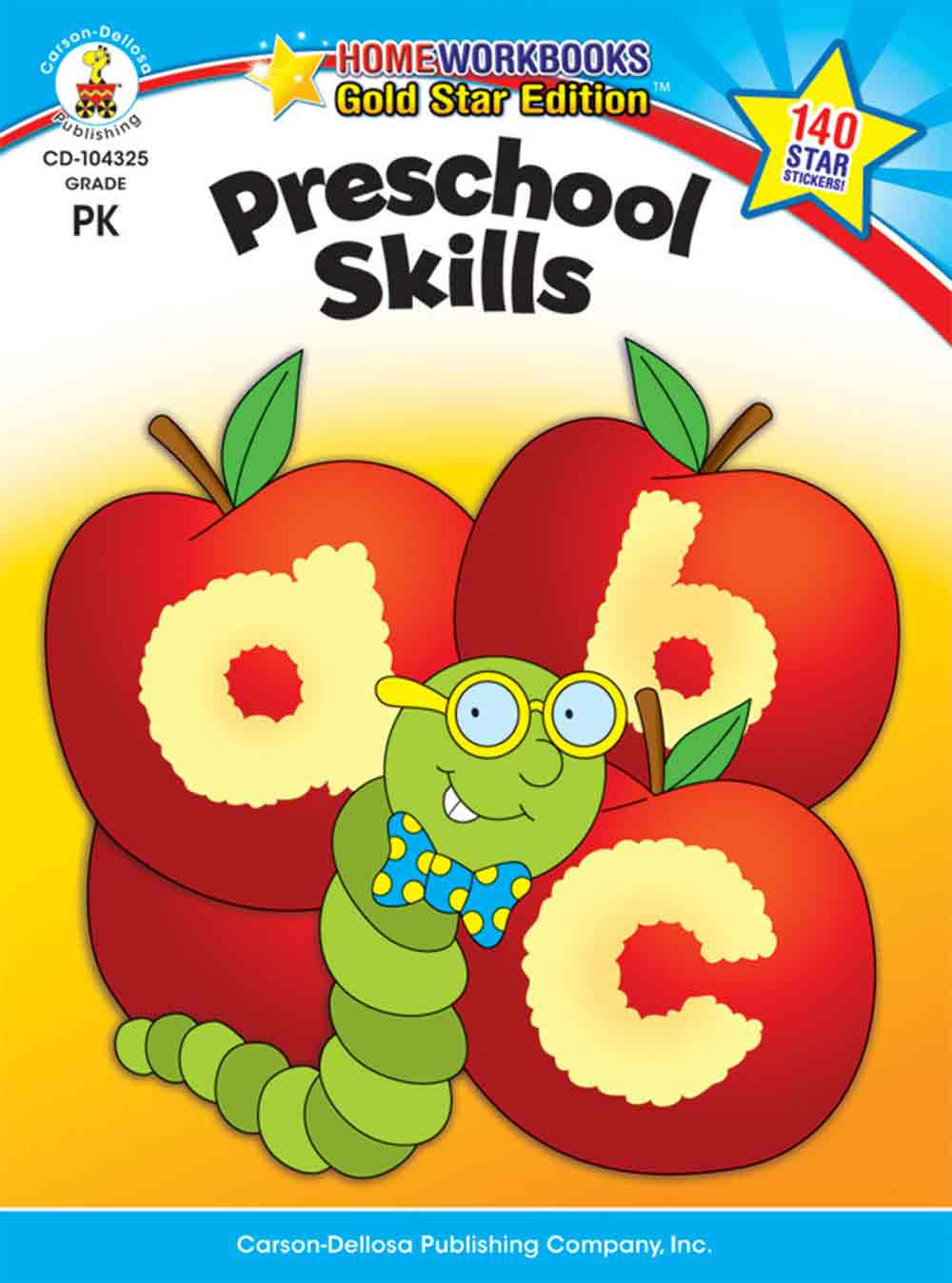 Preschool Skills: Gold Star Edition - Carson-Dellosa Publishing