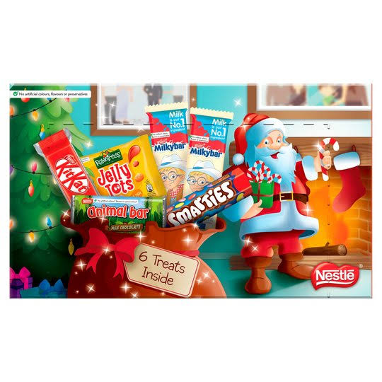 Nestlé Medium Chocolate Christmas Selection Box - 143.7g