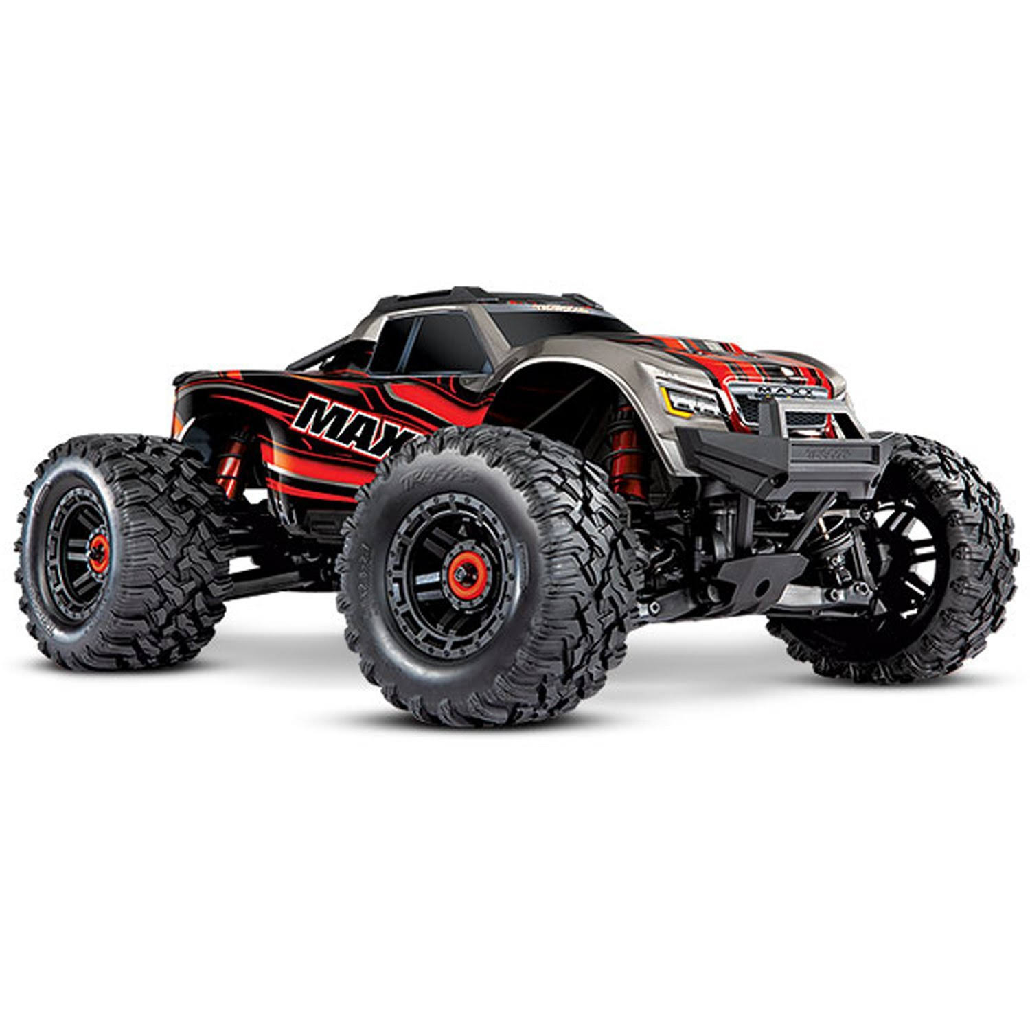 Traxxas 89076-4 - Maxx 1/10 4x4 Monster Truck RTR, Red