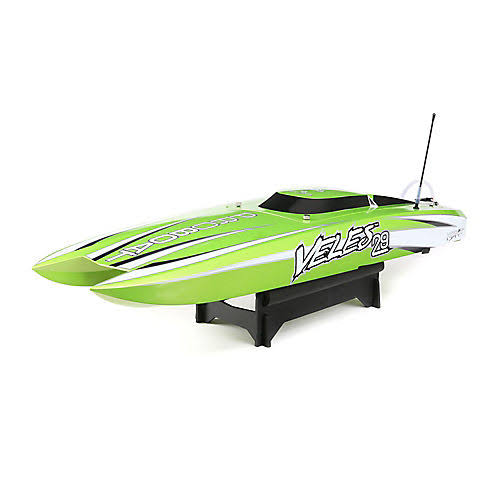 "Pro Boat RC Vehicle Boat Toy - Veles Catamaran, 29"", Green"