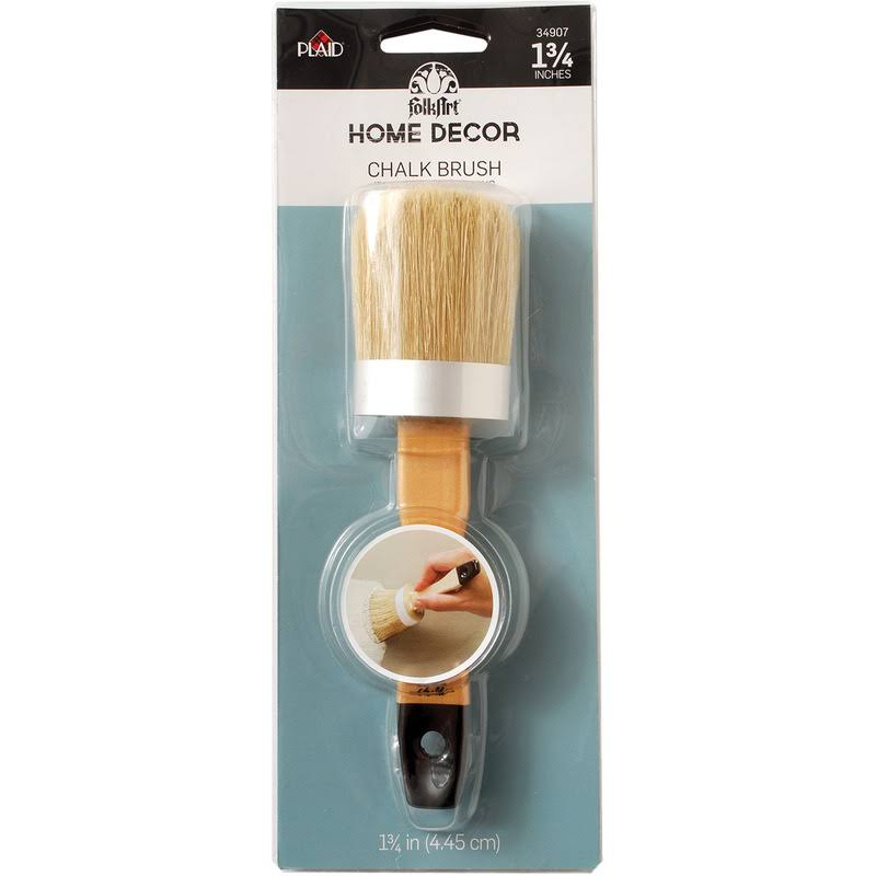 FolkArt 34907 Home Decor Chalk Finish Brush - 1 3/4""