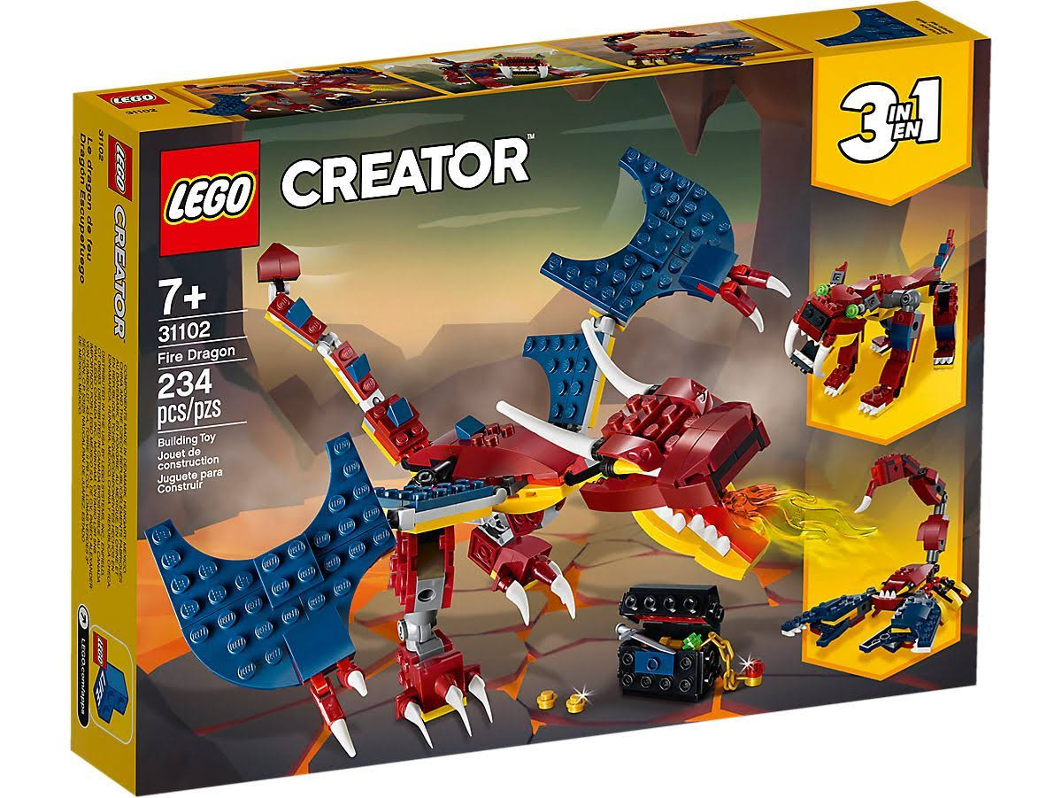 Lego Creator - Fire Dragon 31102