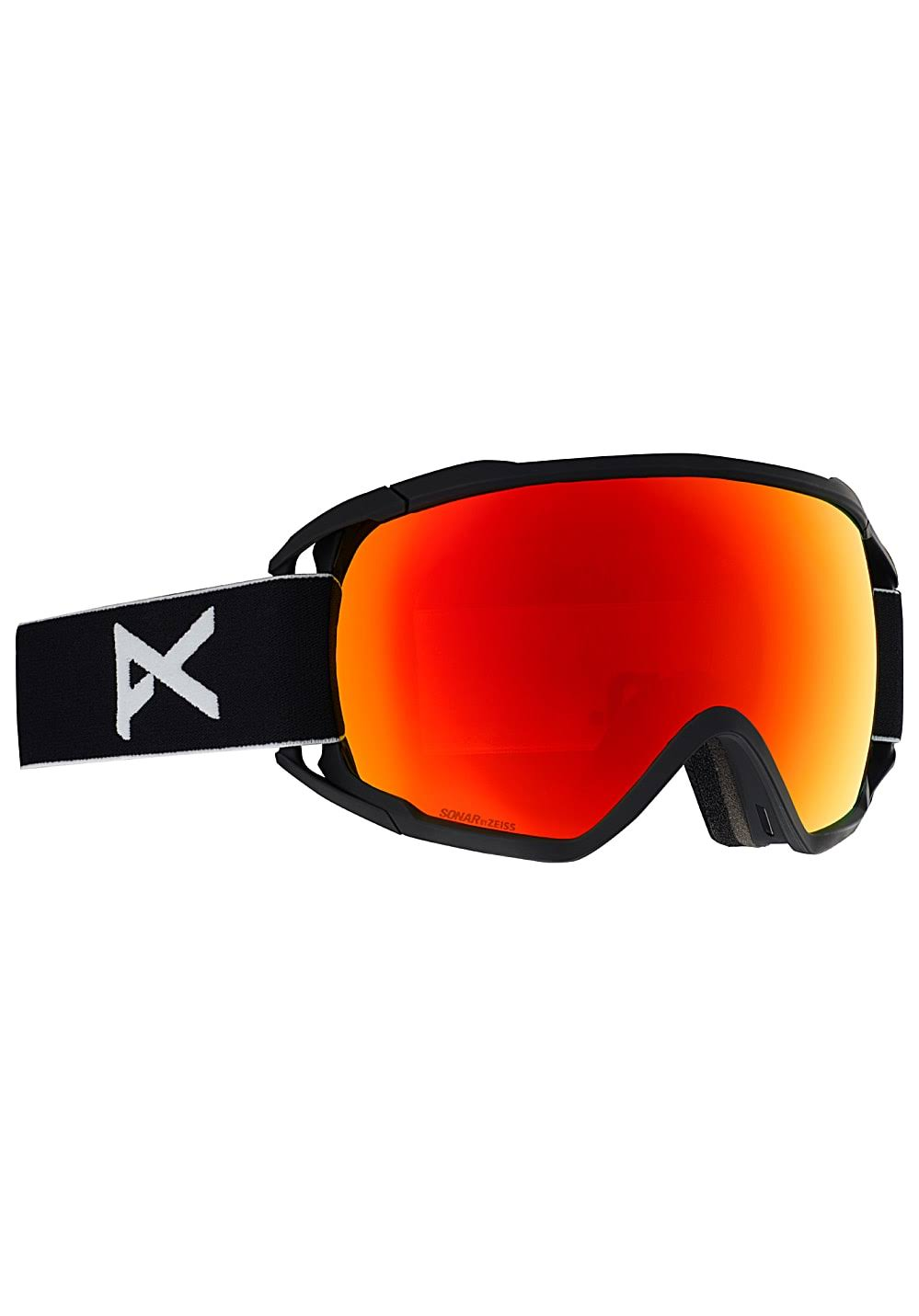 Goggles Anon Circuit Black Sonar Red