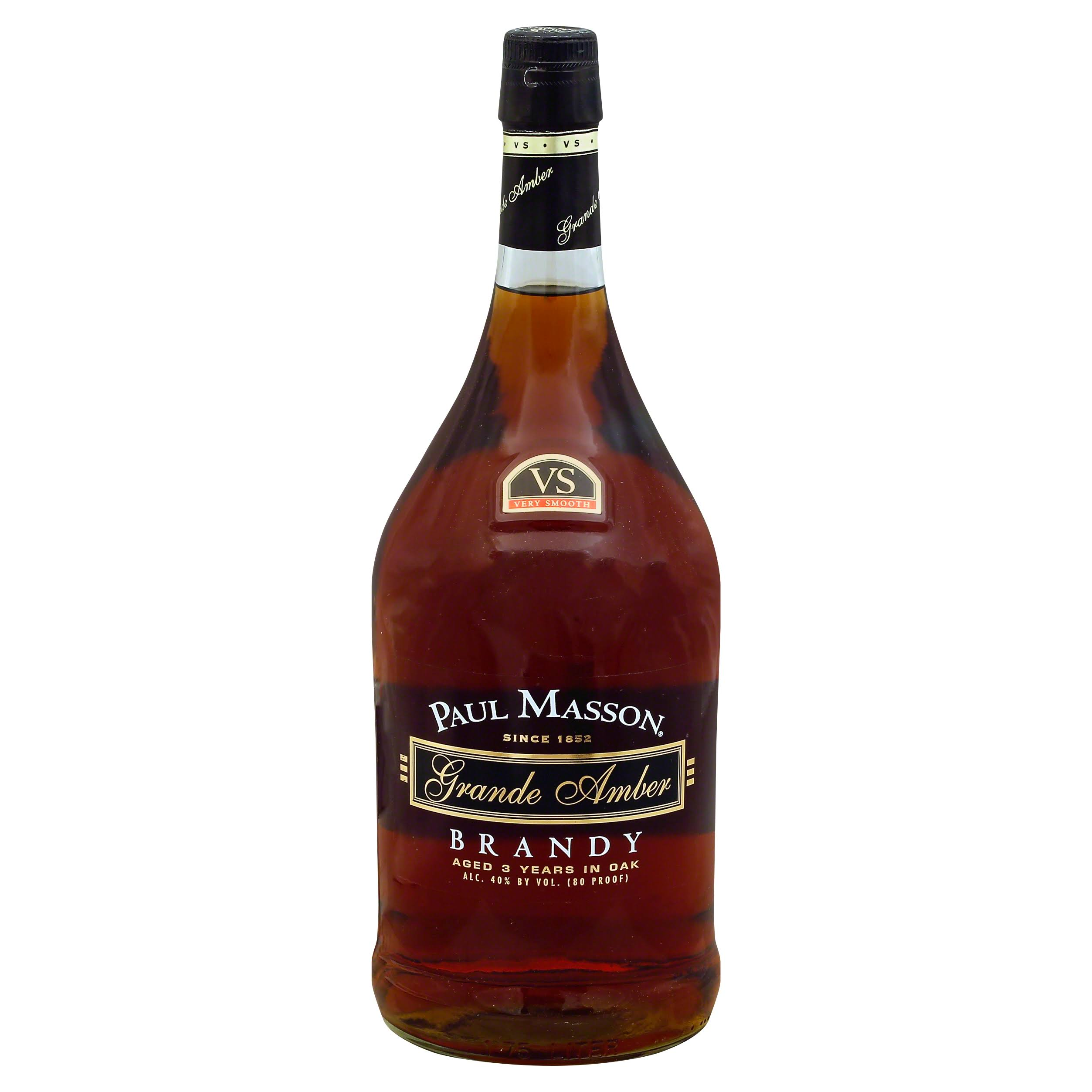 Paul Masson Grande Amber Brandy - 1.75 lt