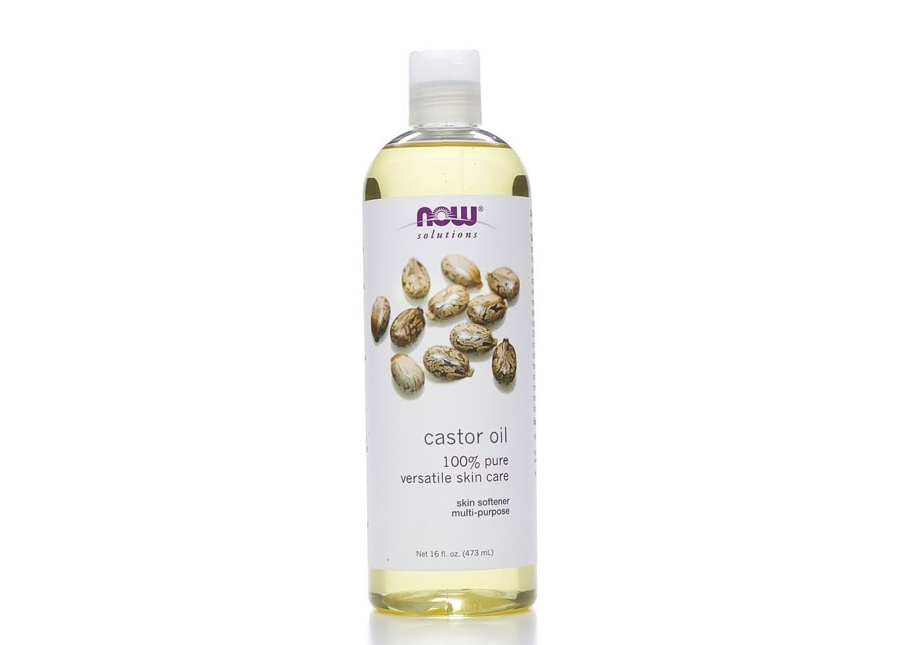 Now Solutions 100% Castor Oil - 16oz