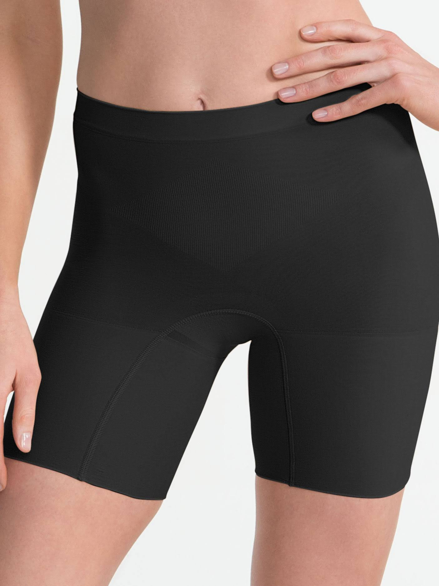 Spanx Womens Power Shorts - Black