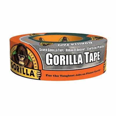 Gorilla Heavy Duty Duct Tape - 1.88in x 35yd, Silver