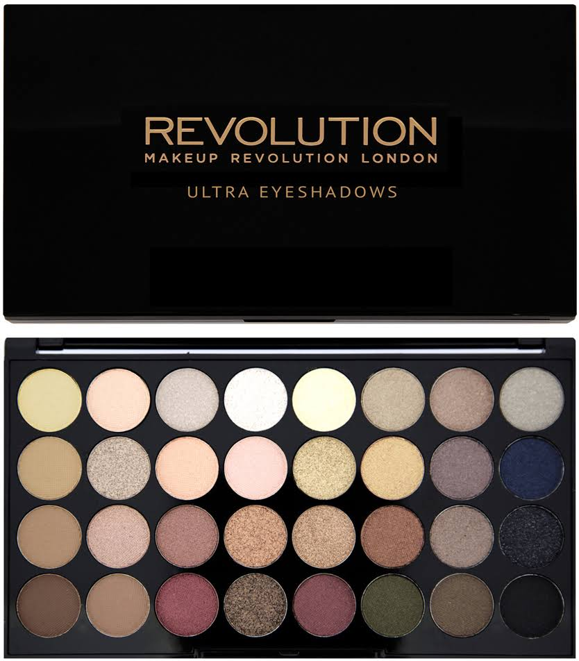 Makeup Revolution Flawless Ultra Professional Eyeshadow Palette