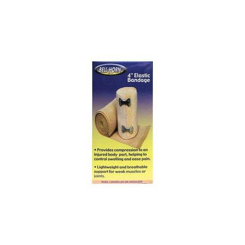 Bell-Horn Elastic Bandage - with Clip Lock, 4""