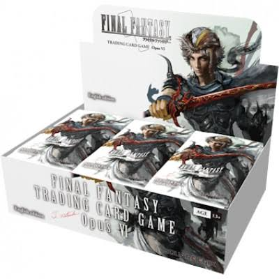 Final Fantasy Opus Trading Card Booster Box - 36ct