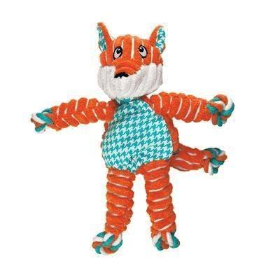 Kong Floppy Knot Fox Dog Toy, Size: Small/ Medium
