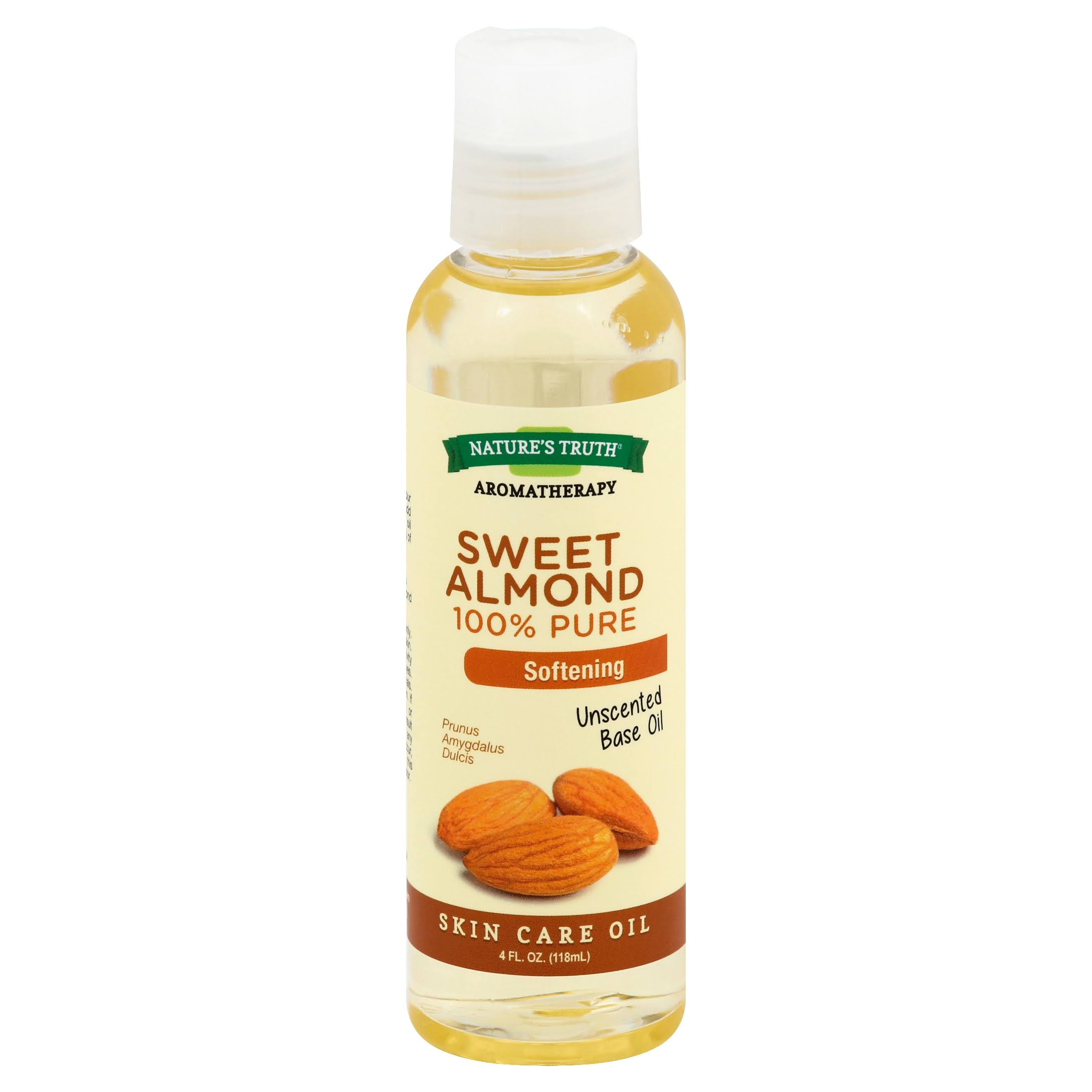 Nature's Truth Aromatherapy 100% Pure Skin Care Oil - Sweet Almond, 118ml