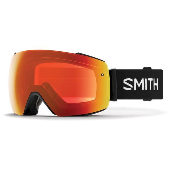 Smith I/O Mag Googles Black Chromapop Everyday Red Mirror by Got Your Gear