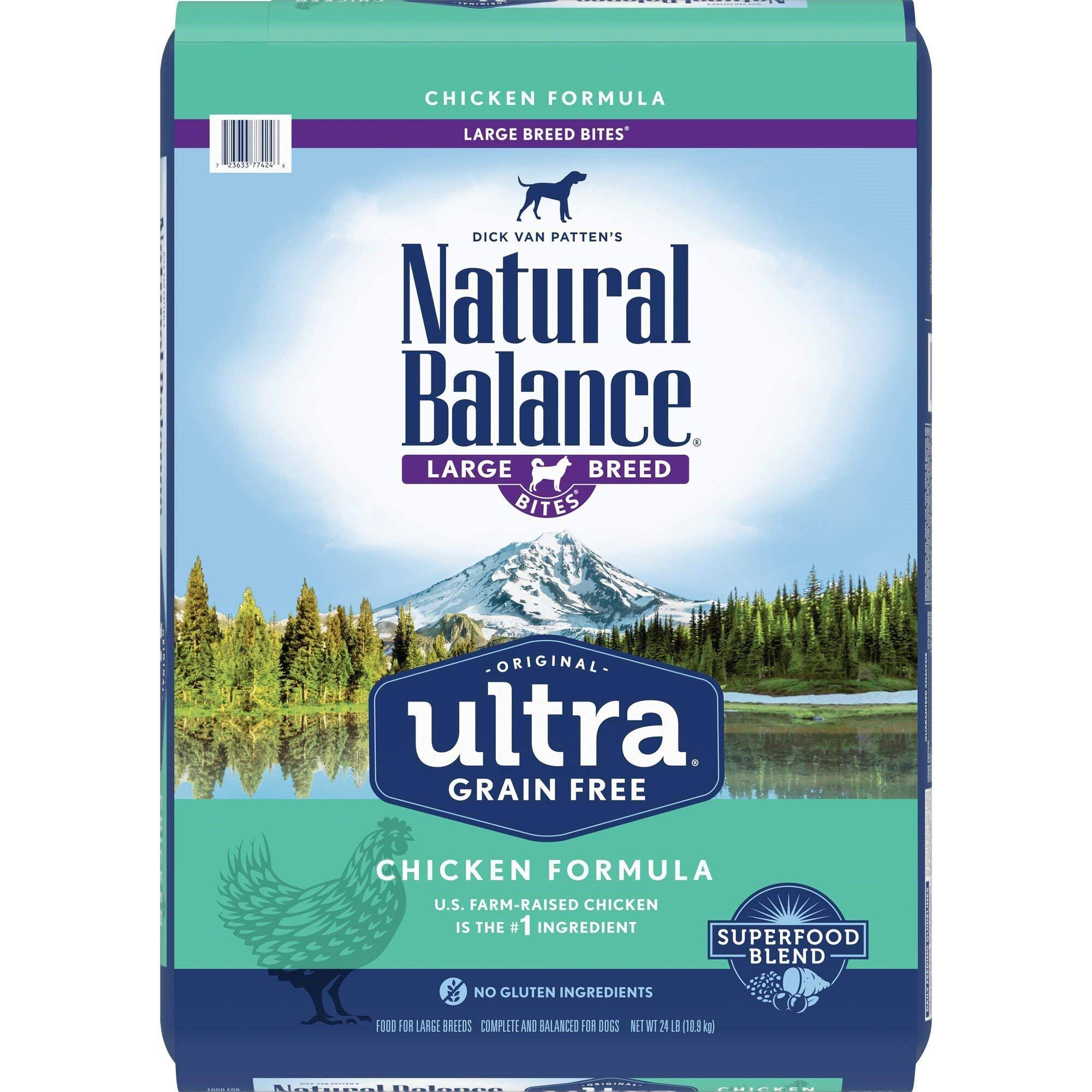 Natural Balance Original Ultra Grain Free Dry Dog Food - Chicken Formula, 24lbs