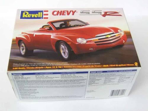 Revell Chevy SS R Truck / Car Model