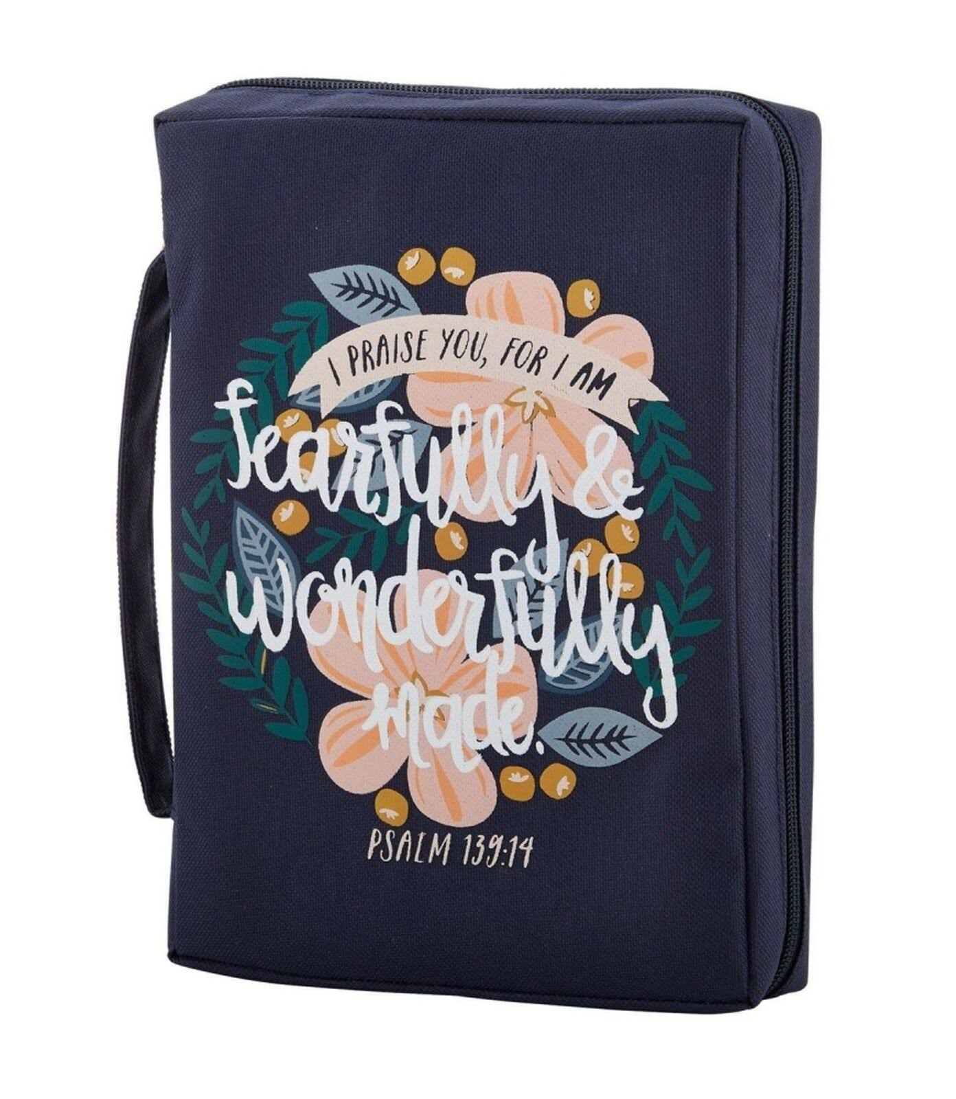 Faithworks Bible Cover, Wonderfully Made