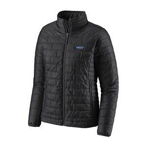 Patagonia 84217 Women's Nano Puff Jacket - Black, Large