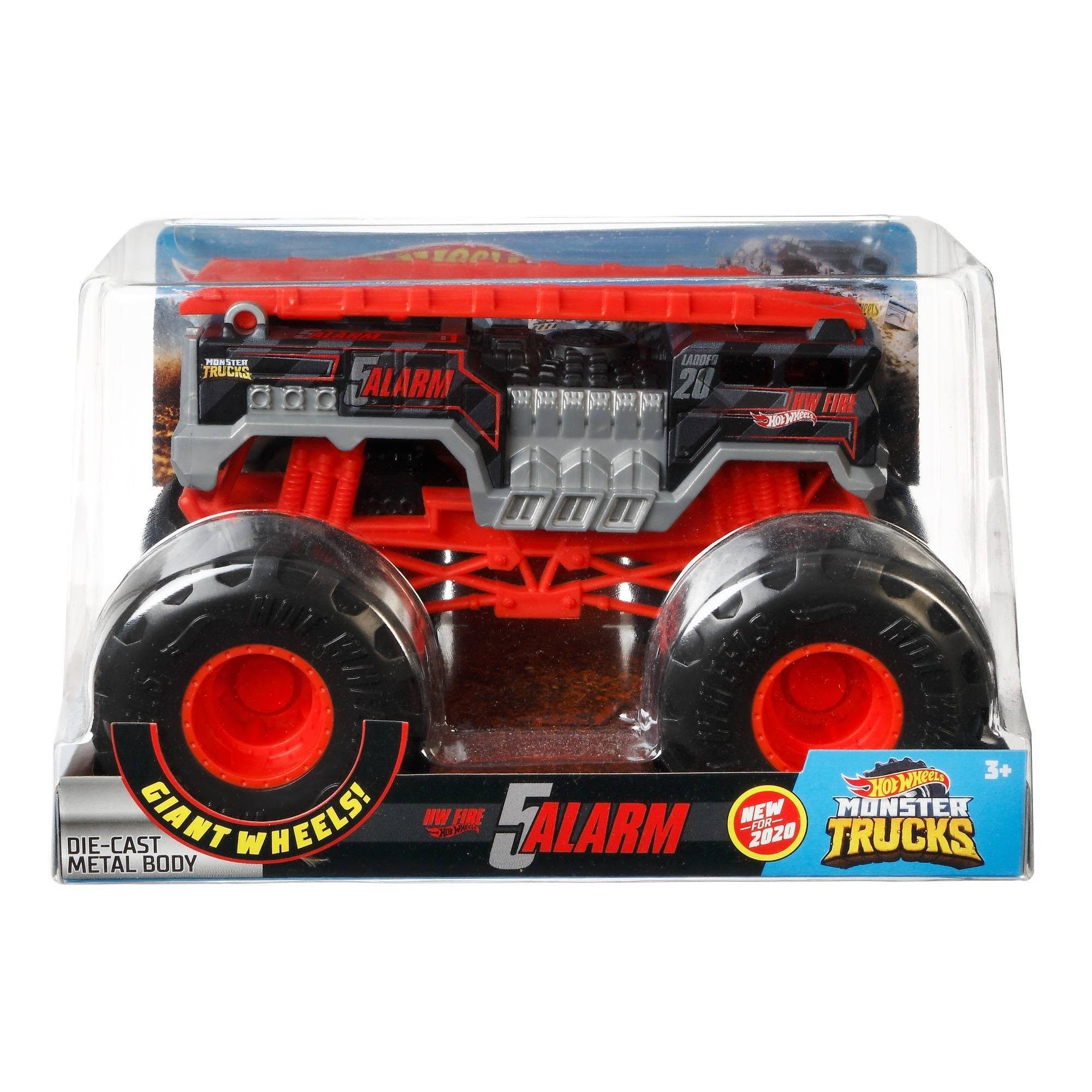 Hot Wheels 1:24 Scale Monster Truck 5 Alarm