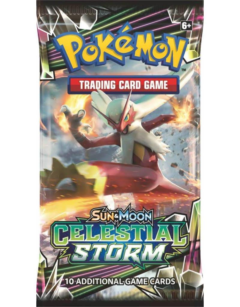 Pokemon: Sun & Moon Celestial Storm Booster Pack