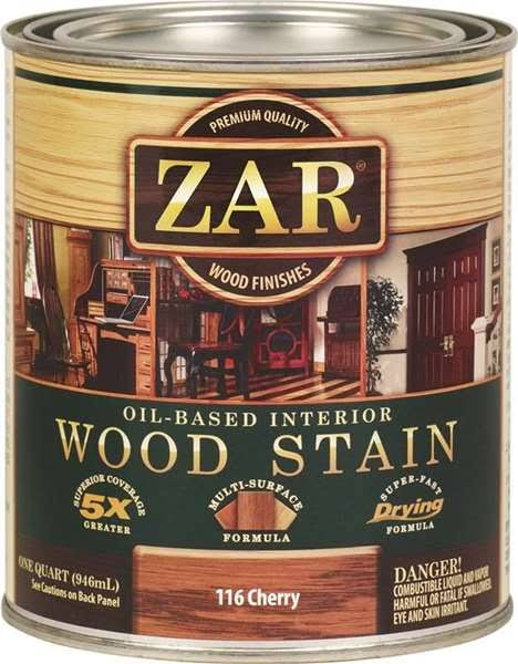 United Gilsonite Labs Zar Oil Based Wood Stain - 1 Quart, 116 Cherry