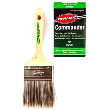 Dynamic HB188107 3 in. Commander Flat Polyester Brush